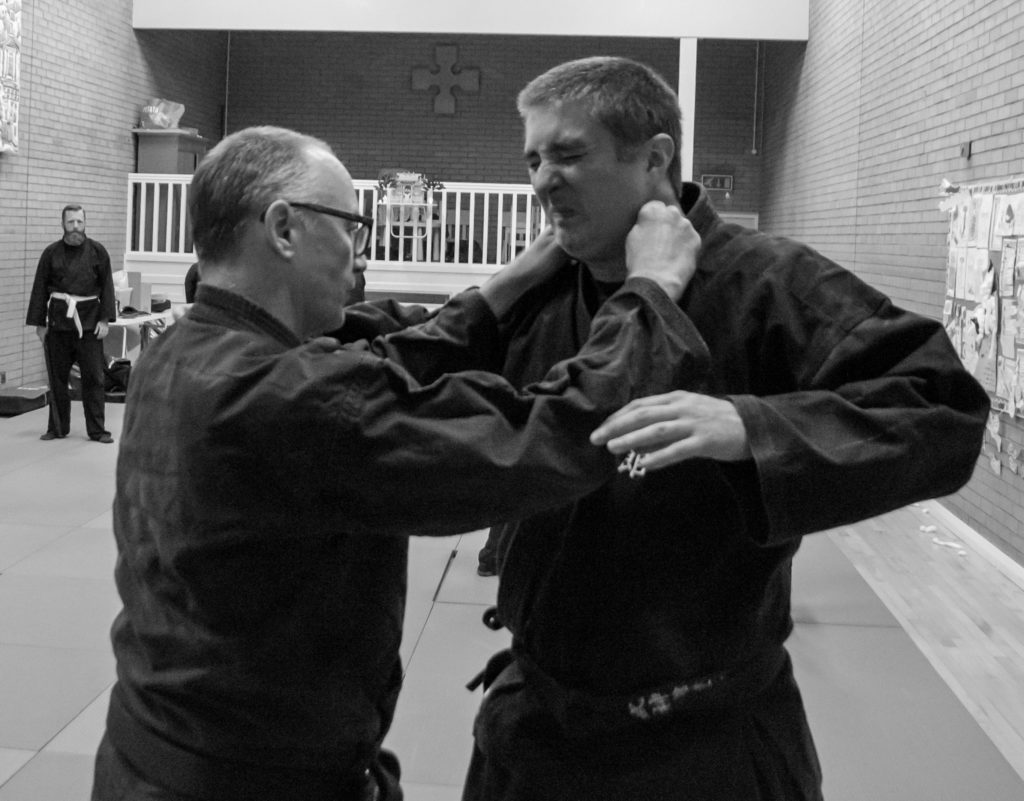 Training Bujinkan Martial arts in Dublin 2. Useful self defence technique for men or women